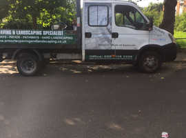 Iverco daily pickup crew cab