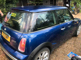 Mini MINI, 2004 (53) Blue Hatchback, Manual Petrol, 1,150,000 miles
