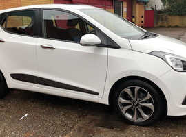 Hyundai i10, 2016 (65) White Hatchback, Manual Petrol, 44,000 miles