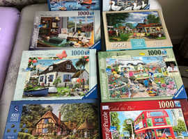 Assorted Jigsaw Puzzles