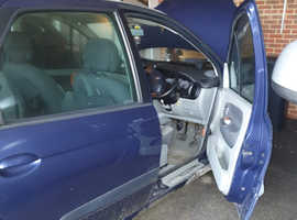 Renault Megane, 2003 (03) Blue MPV, Automatic Petrol, 88,000 miles