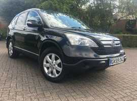 Honda CR-V, 2009 (59) full year MOT, Black, Manual Diesel, 101,030 miles