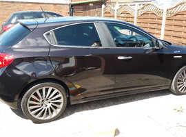 Alfa Romeo Giulietta, 2013 (13) Black Hatchback, Semi auto Petrol, 54,240 miles