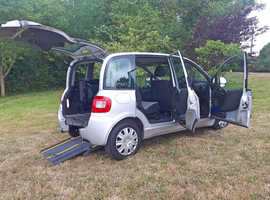 Brotherwood Wheelchair Up Front Fiat Multipla Adapted Car, 2009, free delivery, px welcome, new look model