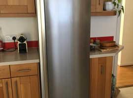 Tall larder fridge.