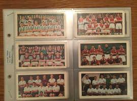 Cigarette Cards. 'Soccer Teams' (1956).