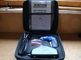 Jewson 3.6 V Cordless Screwdriver Kit