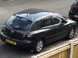 Mazda MAZDA 3, 2007 (57) Grey Hatchback, Manual Petrol, 65,000 miles