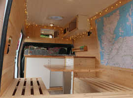 FORD TRANSIT LWB HIGH ROOF 3 BERTH CAMPER