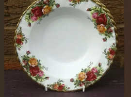 Royal Albert old country roses Soup Bowls