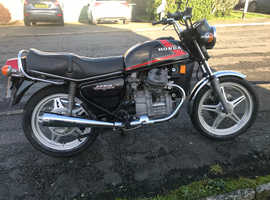 1977 Honda CX500 Historic Vehicle Tax and MOT exempt.