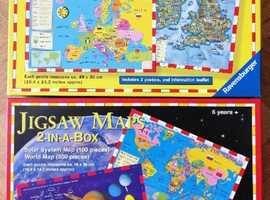 Ravensburger Jigsaw Maps