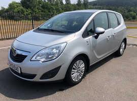 2013 Vauxhall Meriva 1.4 Petrol, long MOT, 67k miles, service history, 2 keys