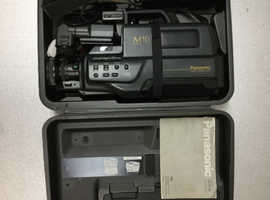 Panasonic NV - M10 B VHS Video Camera / Movie Maker.