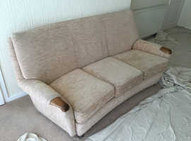 3 seater sofa and chair, free .