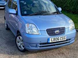 Kia Picanto, 2006 (06) Blue Hatchback, Manual Petrol, 106,655 miles