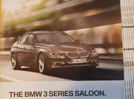 The BMW 3 Series Saloon Owner's Handbook