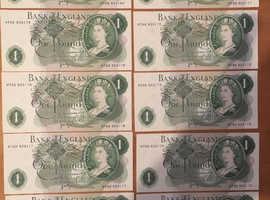 £1 notes