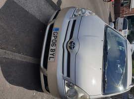 Toyota Corolla, 2006 (06) Silver MPV, Manual Diesel, 130,000 miles