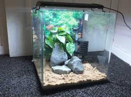 Aqua one cube shrimp, nano ,betta aquarium