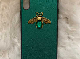 LUXURY MARBLE AND BEE CASE FOR IPHONE