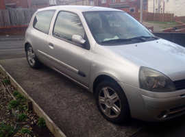 Renault Clio, 2006 (06) Silver Hatchback, Manual Petrol, 55,000 miles