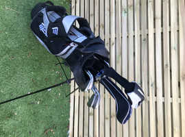 Ping golf set in bag