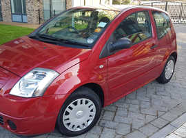 Citroen C2, 2006 (06) Red Hatchback, Manual Petrol, 33,200 miles