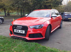 Audi Rs6 2014 (14) Red Estate, Automatic Petrol, 32,900 miles