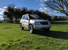 Suzuki Grand Vitara, 2005 (55) Silver Estate, Manual Petrol, 63,000 miles