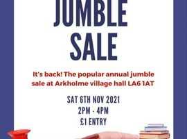 Arkholme annual jumble sale