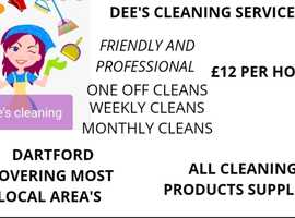 Dee's cleaning service