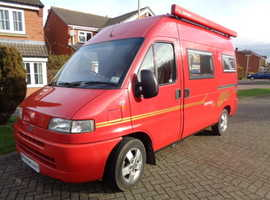 2002 Fiat Savannah Gold Motorhome (LOCATION LEICESTER)