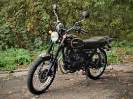 Herald Classic S 125cc Motorcycle