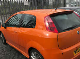 Fiat Grande Punto, 2006 (55) Orange Hatchback, Manual Diesel, 120,000 miles
