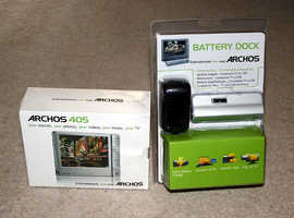 Archos 405 2GB Portable Media Player with Dock