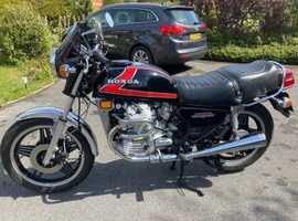 Rare CX500B HONDA 1982 Completely Restored.  Stunning condition.  UK bike.