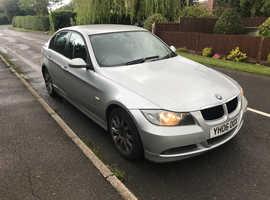 BMW 3 Series, 2006 (06) Silver Saloon, Manual Petrol, 69,700 miles