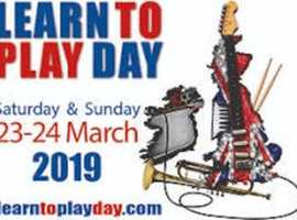 Learn to Play Day - Free Music Taster Lessons on Saturday 23 March 2019 at Yamaha Music Point, Milton Keynes