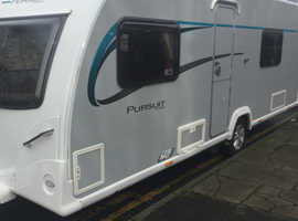 Bailey Pursuit Plus 530-4 fixed bed & motormover 2015NOW REDUCED TO £11,250