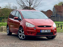 Ford S-Max, 2007 (07) Orange MPV, Manual Diesel, 75,135 miles