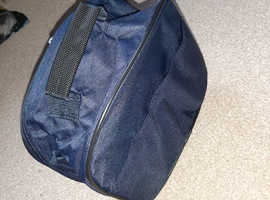 Wheeled suitcase colour blue