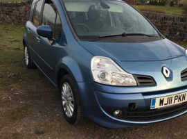 Renault Modus, 2011 (11) Blue Hatchback, Manual Diesel, 107,000 miles