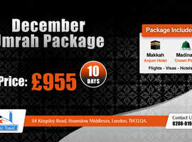 December Umrah Packages at Low Price from uk