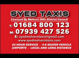 Syed Malvern Taxi Service.
