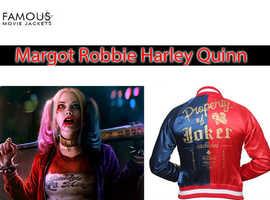 Margot Robbie Suicide Squad Harley Quinn Costume Jacket