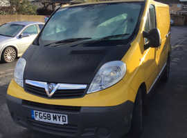 Vauxhall vivaro 2008 1.9 Diesel MOT OCT NON RUNNER BARGAIN £800