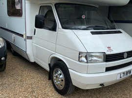 VW Transporter, Coach built Swift Royale Motorhome, 1994, 5 berth