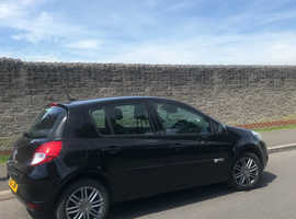 Renault Clio, 2012 (12) Black Hatchback, Manual Petrol, 59,500 miles