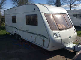 Bessacarr Cameo 550 GL with air con , Alde wet central heating Truma T/E Motor movers